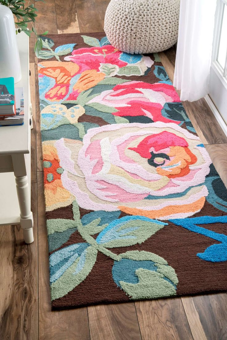 Alfombras Flokati Best 25+ Floral Rug Ideas On Pinterest | Girl Nursery Rugs