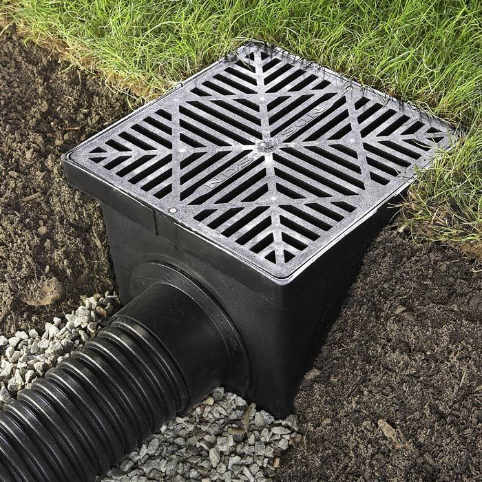 17 Best Ideas About Yard Drain On Pinterest | Drainage Solutions