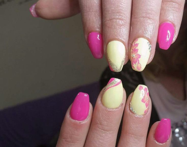 Fuschia Color Nail Art The Best Inspiration For Design