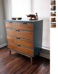 Refurbished Mid-Century Modern Dresser Etsy | Mid century ...