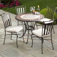17 Best images about outdoor wrought iron table/chairs on ...