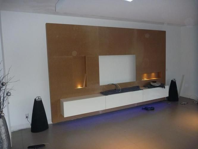 Tv In Wand Tv Wand | Huiskamer | Pinterest | Tvs, Wands And Led