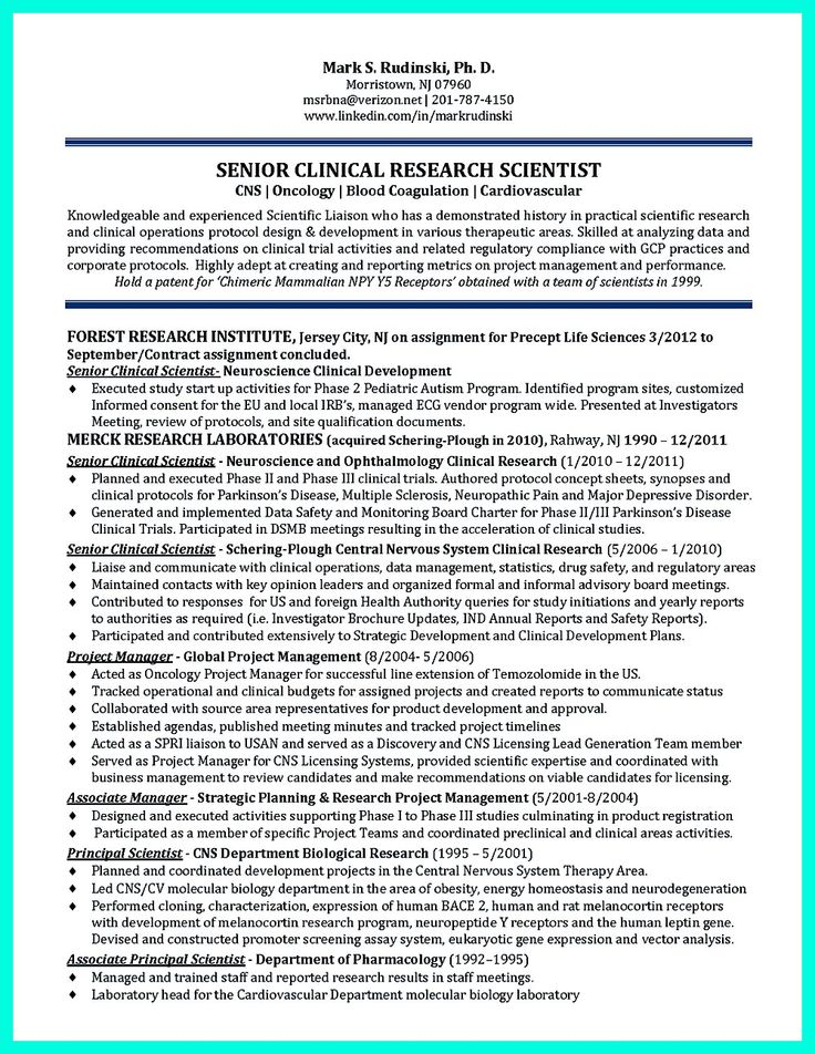 clinical research associate description resume - 28 images - clinical research resume