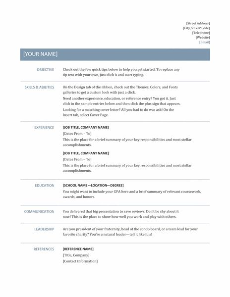 resume for google job resume that will get you a job at google business insider basic