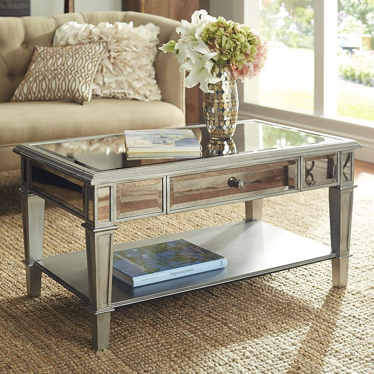 17 Best Ideas About Mirrored Coffee Tables On Pinterest | Mirror