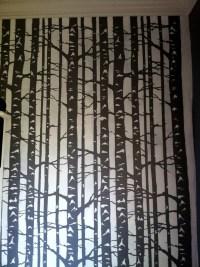 Birch stencil close-up #fortnico | fortnico | Pinterest ...