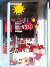 Hello Sunshine Window Display | Toby Tiger Shop - Brighton ...