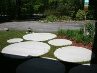 round pavers | Outdoor spaces | Pinterest