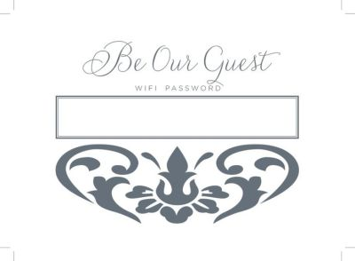 1000+ ideas about Wifi Password Printable on Pinterest | Wifi password, Guest room sign and ...
