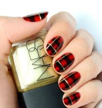 1000+ ideas about Plaid Nail Art on Pinterest | French tip ...
