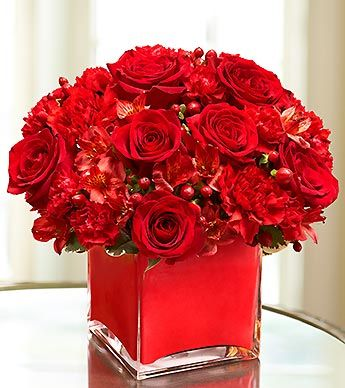 25+ Best Ideas about Red Flower Arrangements on Pinterest
