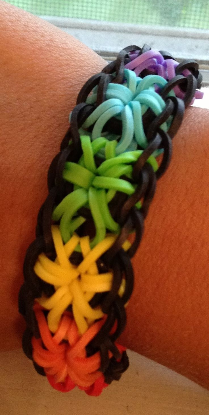 8 Best Images About Rubber Band Braclets On Pinterest