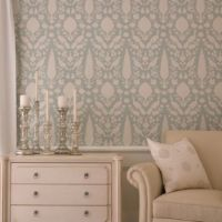 Schumacher Wallpaper Chenonceau in Aquamarine | Home ...