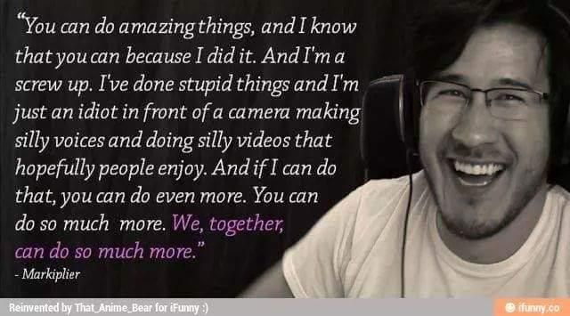 Love U So Much Quotes Wallpaper 17 Best Images About Mark Fischbach Markiplier On