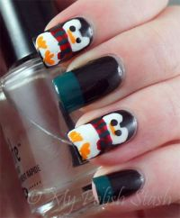 Simple Penguin Nail Art Designs Ideas 2013 2014 10 Simple ...