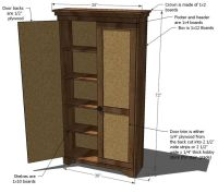 Wood Dvd Storage Cabinet Plans - WoodWorking Projects & Plans