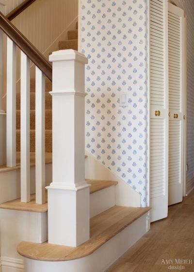 17 Best images about stairwell on Pinterest | Red oak, Staircase remodel and Dark wood