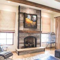 25+ best ideas about Reclaimed wood fireplace on Pinterest ...