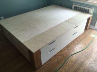 1000+ ideas about Ikea Storage Bed on Pinterest   Platform ...