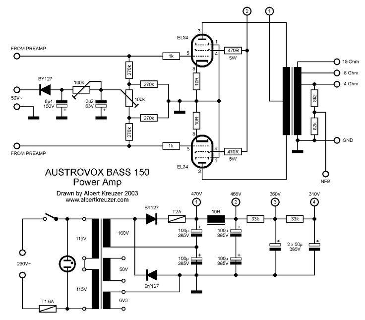 bogner xtc schematic