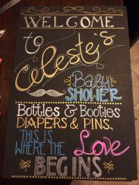 Best 20+ Baby Shower Chalkboard ideas on Pinterest | Baby ...