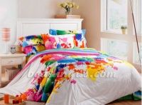 paint splatter bedding set | ... Bedding Comforter Set ...