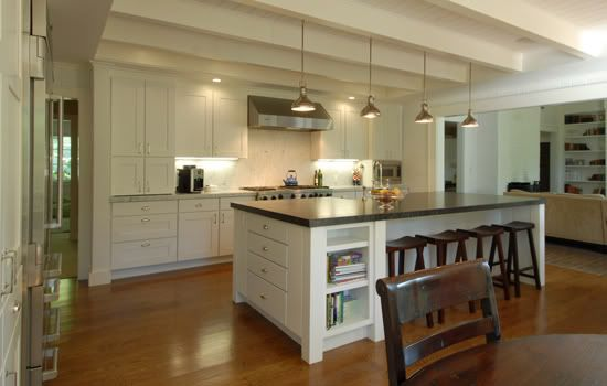 Big Island Kitchen Design 10 Foot Kitchen Cabinets | 10 Foot Ceilings....what To Do