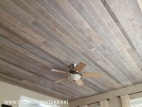 Wood Plank Ceiling - WoodWorking Projects & Plans