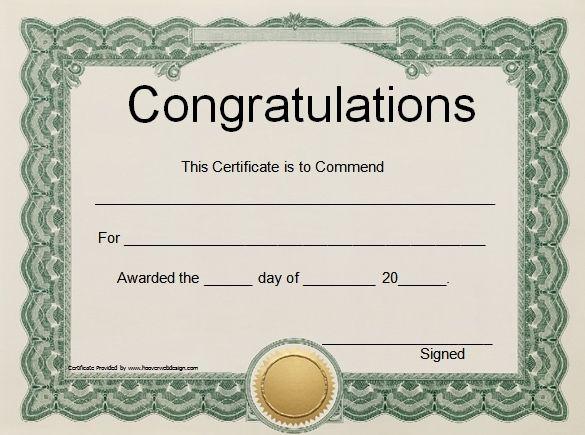 Award Templates Word 41 free stock certificate templates word pdf - awards template word