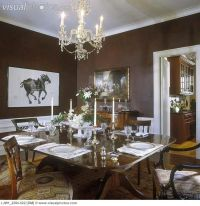 black and white painted rooms | DINING ROOM - Formal ...