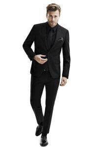 25+ best ideas about Black suit men on Pinterest   Black ...