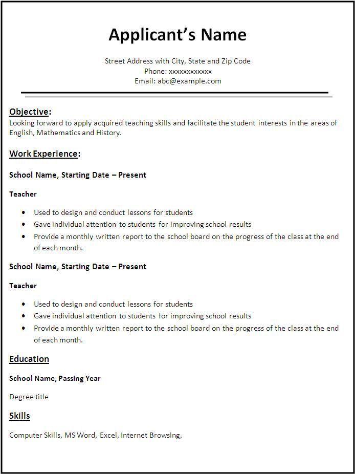 3 different resume styles contegri com