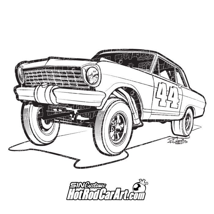 hot rod gasser auto electrical wiring diagram