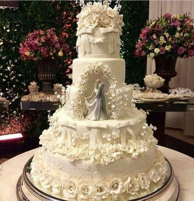 613 best images about Cake - 5 Tier Wedding Cakes on ...