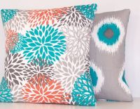 1000+ ideas about Turquoise Pillows on Pinterest | Teal ...
