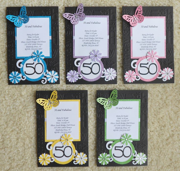 37 Best Images About Invitations To Make On Pinterest