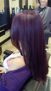 Dark Violet. ellumen color by Ashley Stone | Hair Styles ...
