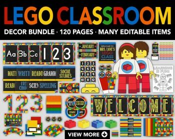 25+ best ideas about Lego classroom theme on Pinterest