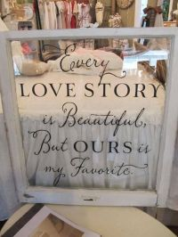 Wedding Sign Decal, Vinyl Lettering for sign - Every Love ...