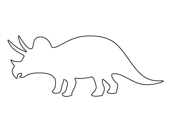 25 Best Ideas About Dinosaur Template On Pinterest
