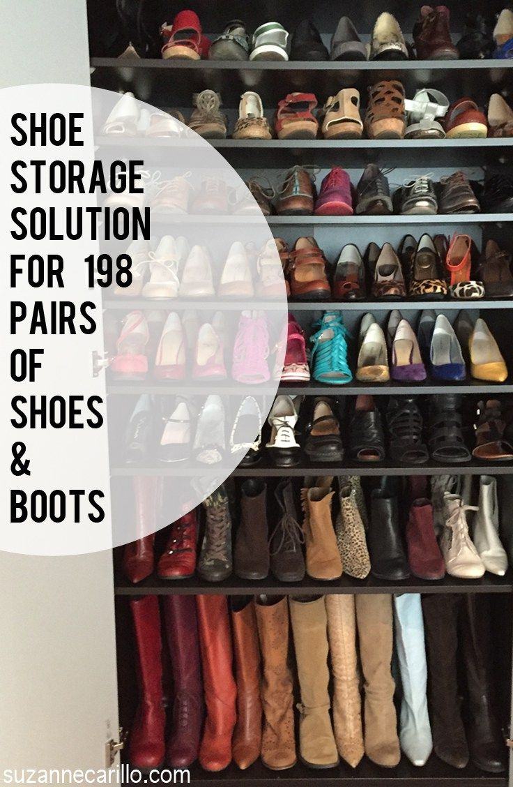 17 Best Ideas About Shoe Storage Solutions On Pinterest