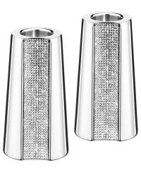 "Swarovski Candle Holder, Ambiray 3"" Pair"