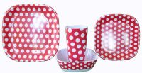 Melamine Dinnerware Sets | ... > Shop > Products > Red ...