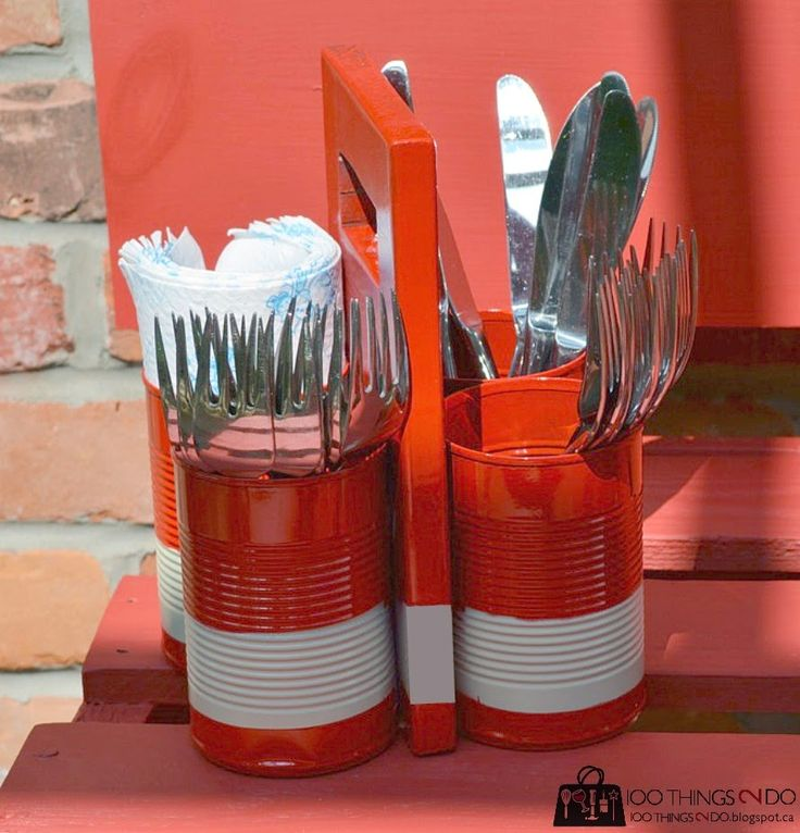 1000 Ideas About Utensil Caddy On Pinterest Patriotic