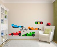 17 Best ideas about Race Car Room on Pinterest | Boys car ...