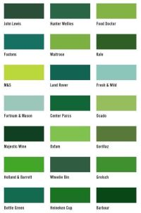 17 Best ideas about Shades Of Green Names on Pinterest ...