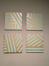 Best 25+ Geometric painting ideas on Pinterest