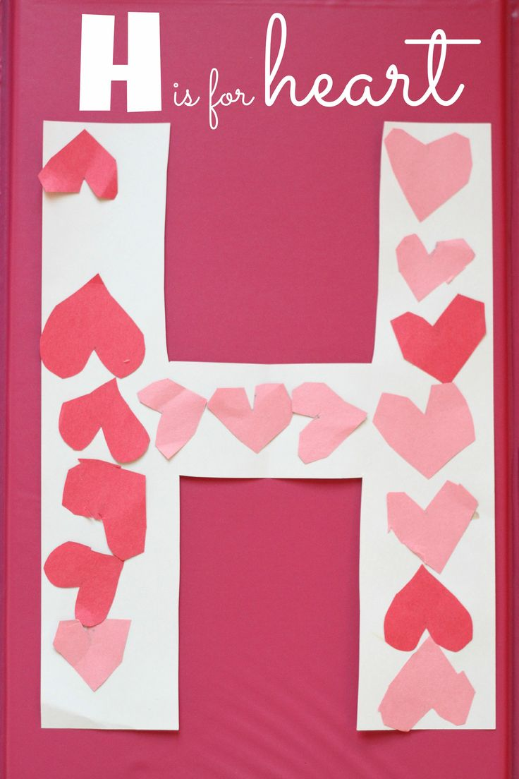 February crafts for preschoolers - February Crafts For Preschoolers February Crafts For Preschoolers H Is For Heart Alphabet Craft Download