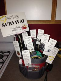 Wedding Shower gift for a male coworker. | Wedding Shower ...