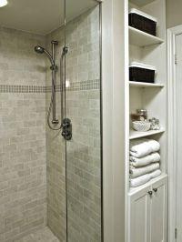 Bathroom Shower Pleasing Open Shower Bathroom Open Shower ...